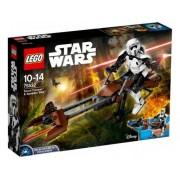 Конструктор LEGO Star Wars 75532 Штурмовик-разведчик на спидер