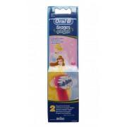 Сменные насадки для зубной щетки Braun Oral-B Kids Stages EB10K, Princess, 2 шт
