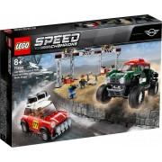 Конструктор LEGO Speed Champions 75894 Мини Купер 1967 и Мини Купер 2018
