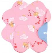 Конверт для новорожденного Ramili Light Denim Style Pink