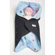 Конверт для новорожденного Ramili Denim Style Blue