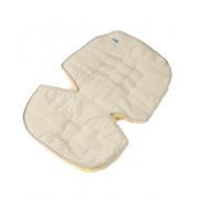 Меховой коврик для коляски или автокресла Ramili Baby Eccellente Beige