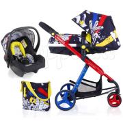 Трехколесная модульная коляска 3в1 Cosatto Woop Old Skool