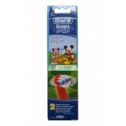 Сменные насадки для зубной щетки Braun Oral-B Kids Stages EB10K, Mickey, 2 шт