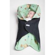 Конверт для новорожденного Ramili Denim Style Green
