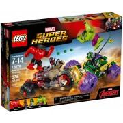 Конструктор LEGO Super Heroes 76078 Халк против Красного Халка