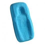 Детская кроватка Momby голубая