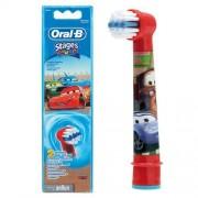 Сменные насадки для зубной щетки Braun Oral-B Kids Stages EB10K, Тачки, 2 шт