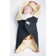 Конверт для новорожденного Ramili Denim Style Beige