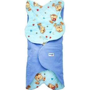 Конверт для новорожденного Ramili Light Denim Style Blue